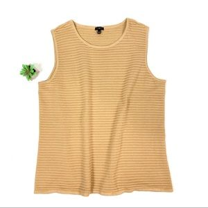 Talbots Sleeveless Sweater knit Vest Size 2X ☕️